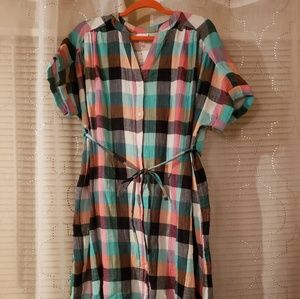 Isabel sold @ Target Plaid Maternity Dress